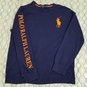Vintage 90s Polo Ralph Lauren Big Pony Spellout